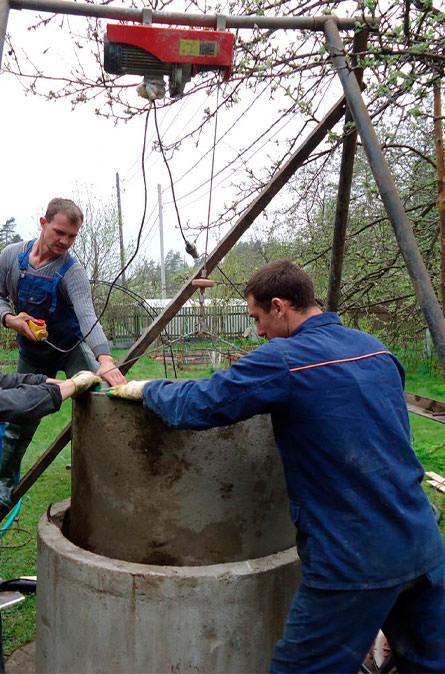 Как мы углубляем колодец в Серпуховском районе